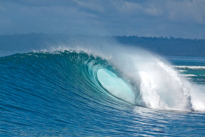 ht's lances right surf spot perfect wave barrel right hander mentawais islands